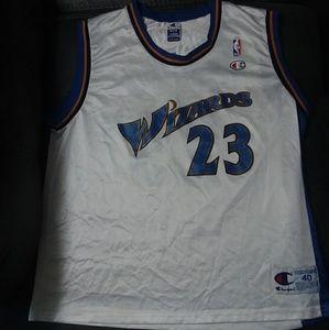 Champion Washington wizards Michael Jordan Jersey